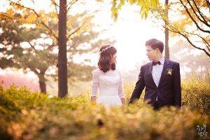가을분위기 물씬! 선유도공원 셀프웨딩사진 by.하늘연달데이트스냅