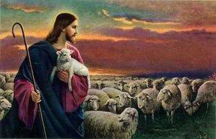 예수님과 어린양