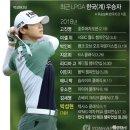 LPGA 랭킹 및 상금순위 (2018.08.20.현재) 박성현프로 세계랭킹1위 탈환하다.