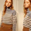 프로미스나인 장규리 사복 공항 패션, 옷 @몬츠 스트라이프 니트