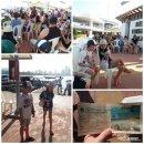 콜롬비아 - 카르타헤나 로사리오 섬, 플라야블랑카(Playa Blanca) 투어