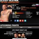 UFC FIGHT NIGHT 136 마크 헌트 vs 알렉세이 올리닉