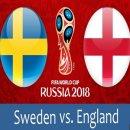 스웨덴 잉글랜드 하이라이트 중계 2018 러시아 월드컵 4강 주인공