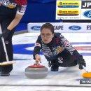 컬링 세계선수권 일본전 움짤과 하일라이트 영상