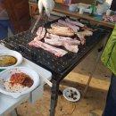 다녀왔습니다. 써니향 팜 벙개에 도야지고기 한마리 잔치🌹💖