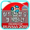 2018 러시아 월드컵 결승 경기 시간