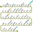 Q. 서울지하철 7호선 색깔은 무슨색인가요?