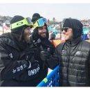 """<2018 평창 동계올림픽 대회> """"안녕하세요, 우리는…"""" 한글로 자국 이름 표시한..."""