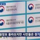 식품안전나라, 청정원 런천미트 파동 이후 jtbc 뉴스룸에서 소개 보도, 사이트 다운