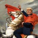 중국 시황제 시진핑 러시아 차르 푸틴과 트럼프
