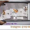 증강현실카드 옥타곤4D카드 신기방기해~!