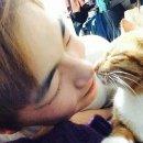강다니엘네 고양이 루니와 피터
