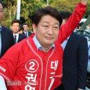 권영진 대구시장 후보, 수성못 '목발투혼'…통증으로 일정 취소