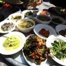 한국기행 시골식당 보리 비빔밥 한그릇
