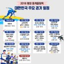 평창올림픽 주요경기 일정과 메달 후보는 누구?