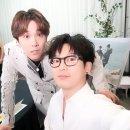 """'이타카로 가는 길' 하현우, 이홍기와 다정한 인증샷 """"이타카♥"""""""