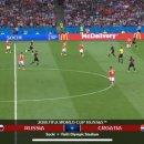 러시아 크로아티아 경기 하이라이트 영상