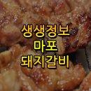 생생정보 마포돼지갈비 맛집 위치와 정보