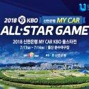 2018 KBO 프로야구 올스타전 선수명단 및 중계 방송채널