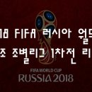 [월드컵] 2018 FIFA 러시아 월드컵 - A조 조별리그 1차전 리뷰