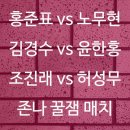 홍준표 vs 노무현 김경수 vs 윤한홍 허성무 vs 조진래 역사의 주인공은 과연?