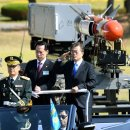 위용' 강릉기지 공군작전 전승기념 에어쇼 /문대통령, 제69주년 국군의 날 행사 참석