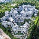 새로운 아파트 디자인-싱가포르 '인터레이스' 세계건축박람회 우승작