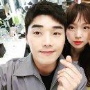 """권혁수, 진기주와 함께 귀여운 셀카 공개 """"이따 간식 뭐 먹지?"""""""