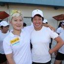 카누 용선과 조정 남북단일팀이 함께 한 날