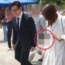 이병헌-이민정 아들, '도촬'로 얼굴 공개...사생활침해 논란