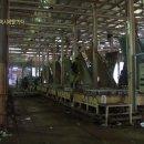 말레이시아 라텍스 매트릭스 공장의 생산과정