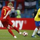 8강 브라질 VS 벨기에 - 토너먼트 울렁증 완전 극복 첫 월드컵 결승을 향해 간다