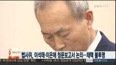 법사위, 이석태·이은애 청문보고서 논의..채택 불투명