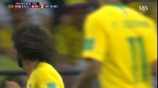 [하이라이트 영상][브라질:벨기에] '황금 세대' 벨기에, 삼바군단 꺾고 32년 만에 4강 진출..프랑스와