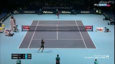조코비치:즈베레프 결승 ATP 파이널 테니스