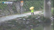 서울 덮친 폭우..정릉천 급류에 자전거 타다 사망