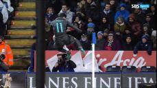 [레스터 vs 첼시] 단신 페드로의 강력한 헤더 골 잉글랜드 FA컵 46회