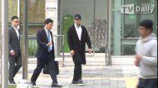 [TD영상] '강제추행 및 특수협박 혐의' 이서원, 3차 공판 출석 '긴장된 표정'