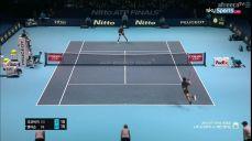조코비치:앤더슨 준결승 ATP 파이널 테니스