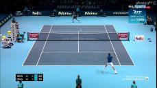 페더러:앤더슨 ATP 파이널 테니스