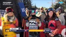 [월드컵] 여자 하프파이프 3차 - 좋은연기 보었지만 클로이 김에는 못미친 매디 마스트로 FIS 국제스키대회 7회