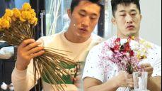 김동현, 꽃에 미친 파이터 '형 지금 진지하다'
