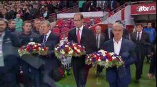 잉글랜드-프랑스 A매치..'연대와 평화' 수놓은 축구