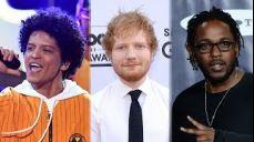 2018 Billboard Award Nominations - Bruno Mars, Ed Sheeran & Kendrick Lamar!