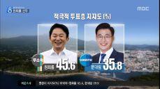 [선택2018, 판세톡톡] 여론조사, 원희룡 41.9% vs 문대림 32.8%/제주MBC