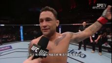 [UFC] 에드가 옥타곤 인터뷰
