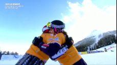 [월드컵 1차] 여자 평행대회전 결승전 - '우승' 차지하는 체코의 레데츠카 FIS 국제스키대회 8회