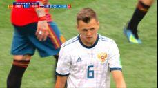 [스페인 VS 러시아] '막판 힘싸움' 승리 가져갈 수 있었던 체리세프 SBS 2018 FIFA 러시아 월드컵 93회